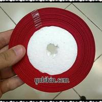 1 Roll Pita Grossgrain 4cm Merah