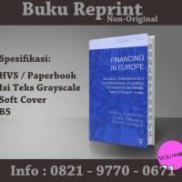 Financing in Europe - Marcella Lorenzini (Sejarah Ekonomi/ Reprint)