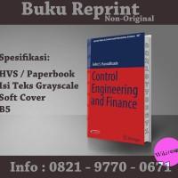 Control Engineering and Finance - Selim S (Buku Import/Reprint)