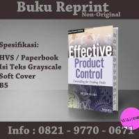 Effective Product Control Controlling for Trading Desks (Reprint)