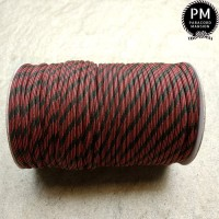 Tali Paracord 550 Series 7 Inner Strands 4 mm - Red Camo