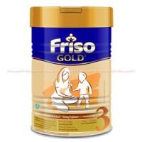 Friso Gold 3 Susu Priso Frisio Plain Kaleng Bubuk 1-3ta Diskon