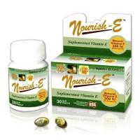 Nourish-E Supplementasi Vitamin E Kulit 200IU Norish E Limited