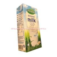 Greenfield Skimmed Milk Susu Skim UHT 1 Liter Susu Rend Murah