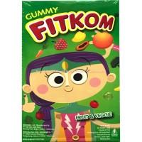 Gummy Fitkom Fruit And Veggie Gel Vitamin Dari Buah Dan Berkualitas