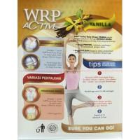 WRP Active Body Shap Vanilla Susu WRP 210gr Bentuk Bada Limited
