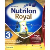 Nutrilon Royal Soya 3 Pronutra Vanilla Vanila 1-3tahun Diskon