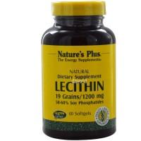 Lecithin 19 Grains 1200mg Suplemen Makanan Obat Natures Berkualitas