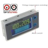Battery Capacity Indicator LCD - DC 10-100V Lithium / Lead Acid