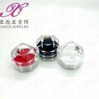 Tempat cincin / Kotak cincin crystal