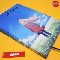Note Book Hardcover Anime Darling in the Franxx Zero Two