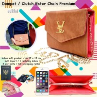 Tas lv Chain Ester Premium brown