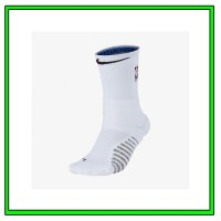 50cf546dc Kaos Kaki Basket Nike Grip Power Crew Socks White Original SX7585-104