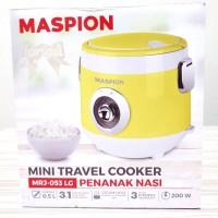 [HIJAU] Mini Travel Cooker Maspion MRJ053 / Rice Cooker Kecil MRJ-053