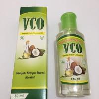 VCO Virgin Coconut Oil Minyak Kelapa Murni 60 ml, 60 ml Terbaik
