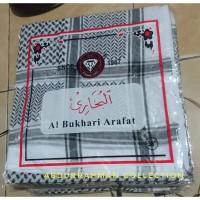 Sorban Almas Arafat Hitam Putih