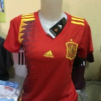 Best Jersey Ladies Spanyol Home Piala Dunia World Cup 2018 Limited Ed