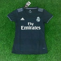 Best Jersey Ladies REAL MADRID AWAY 2018 19 GRADE ORI Limited Edition