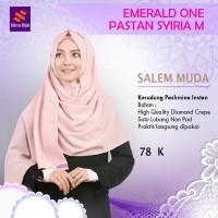 Jilbab Nibras Hijab Emerald One Pasmina Instan Salem Muda Non Pad uk M