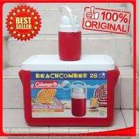 Grosir Cuci Gudang Cool Box Kotak Es Batu Coolbox Coleman Merah