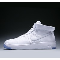 Nike air force 1 fly knit sneakers men's and women's mesh breathable