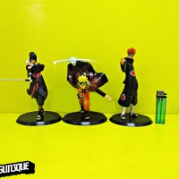 Action Figure Naruto, Pain, Sasuke Set isi 3