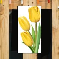 Hiasan Dinding Flora Home Decor Poster Kayu Ruang Dekorasi Rumah LF43