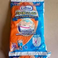 Lifree Popok Celana tipis ukuran XL isi 1(Popok orang Dewasa / lansia)