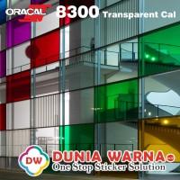 ORACAL 8300 Vinyl Transparan Berwarna DEKOR KACA Akrilik Bening ROLL