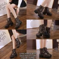 LOUIS VUITTON BOOT SHOES B2402||Sepatu Wanita Cantik|Sepatu Import Mur