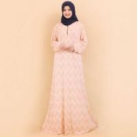Baju Gamis Wanita Terbaru Gamis Jumbo 4L & 6L Motif Kotak 6954
