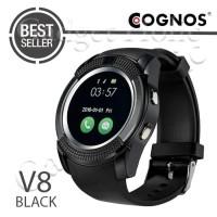 Hot Promo! Cognos Smartwatch DZ11 - GSM V8 - Hitam