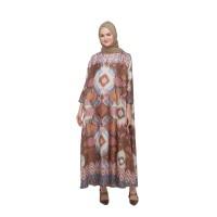 Katamaran Dress - Brown - Ria Miranda