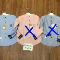 Jual baju anak tanggung laki import branded kemeja korea r blue fashion  Murah f6dcfa1e64