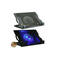"Coolingpad Cooling Pad Cooler Fan Tatakan Laptop Kipas Laptop Max 17"""