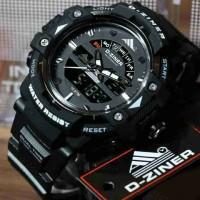 Jam Tangan Pria Murah Dziner Original Black LS