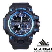 Jam Tangan Pria Murah Dziner Original Black 9119
