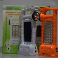 VDR V-977S Emergency   Lampu Senter PLN Dan Tenaga Surya   Powerbank