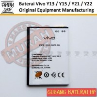 0 Baterai Handphone Vivo Y13 Y15 Y21 Y22 Original OEM Batre Batrai Bat