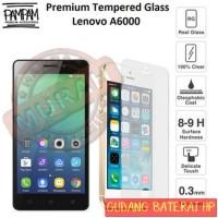 0 Premium Tempered Glass Lenovo A6000 A 6000 9H HP Anti Gores Layar Sc