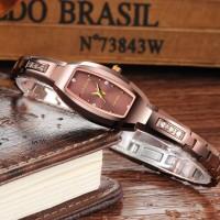 Jam Tangan Wanita Elegan Cocok Untuk Hadiah Mewah 6530