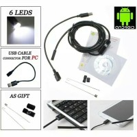 ENDOSCOPE KABEL camera android 2 METER/android kamera Endescope