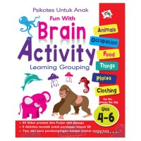 Buku Aktivitas Anak-Fun with Brain Activity
