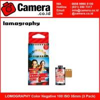 LOMOGRAPHY Color Negative 100 ISO 35mm (3 Pack)