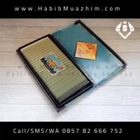 Sarung Tenun Wadimor Motif HORIZON / horison Warna Krem Hijau Kalem