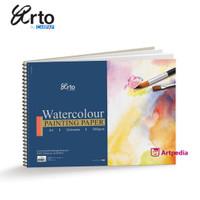 Arto A3 Water Colour Book 300 GSM 12 Sheet - Cellulose
