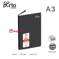 Arto A3 Hard Cover Sketch Book 110gsm /Arto Sketch Book A3 Hard Cover