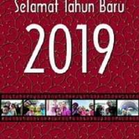 Kalender Dinding Tahun 2019 Custom Foto 12 LembarTipe I AC 260 Gr