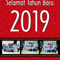 Kalender Dinding Tahun 2019 Custom Foto 12 LembarTipe 2 AP 150 Gr