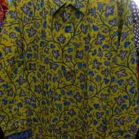 Batik Danar Hadi Lengan Panjang Original Kuning [ADN-PJ121]